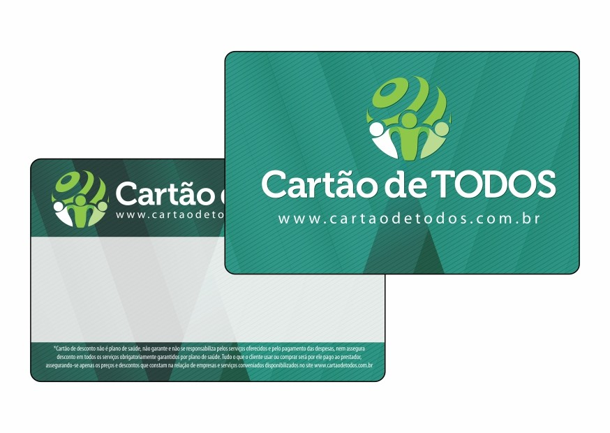 Cartão fidelidade personalizado