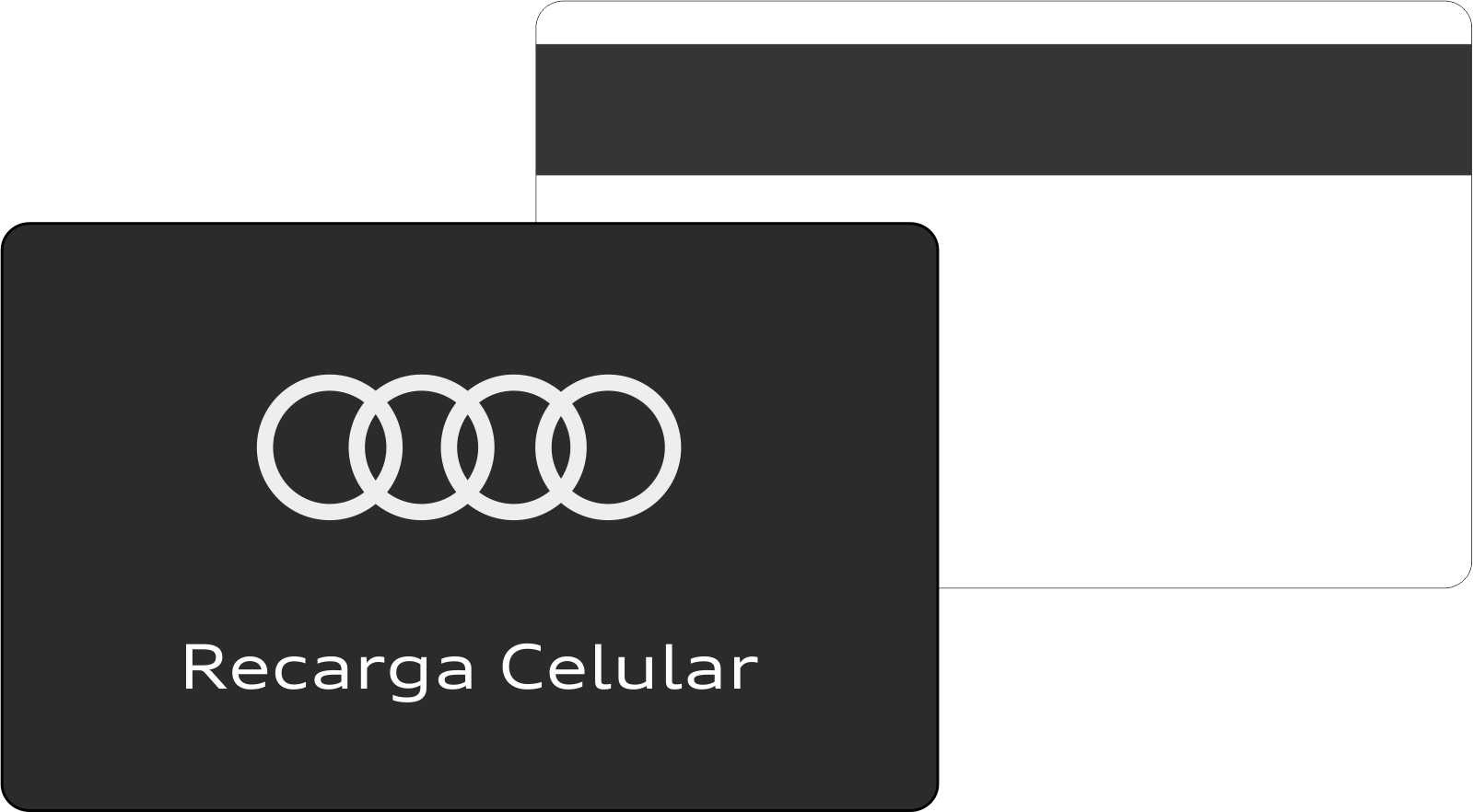 Cartão magnético personalizado preço