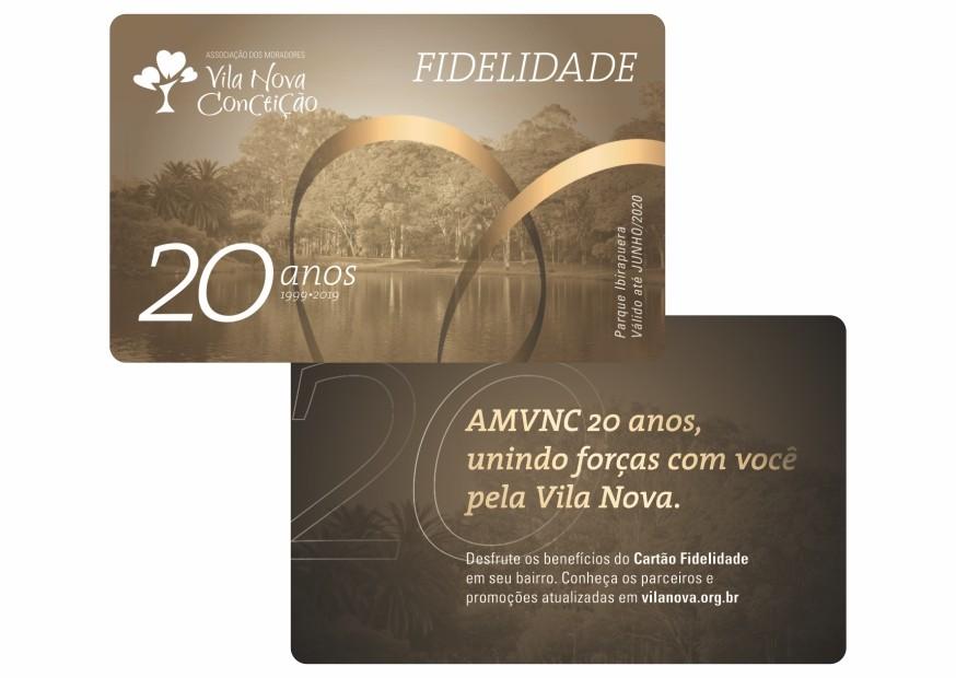 Cartão pvc personalizado